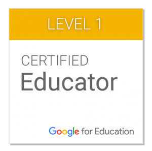 google-certified-educator-level-1