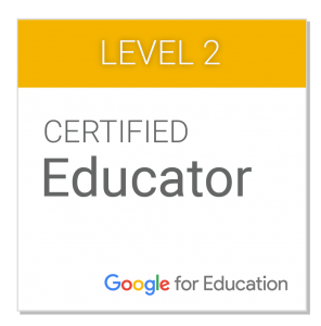 google-certified-educator-level-2