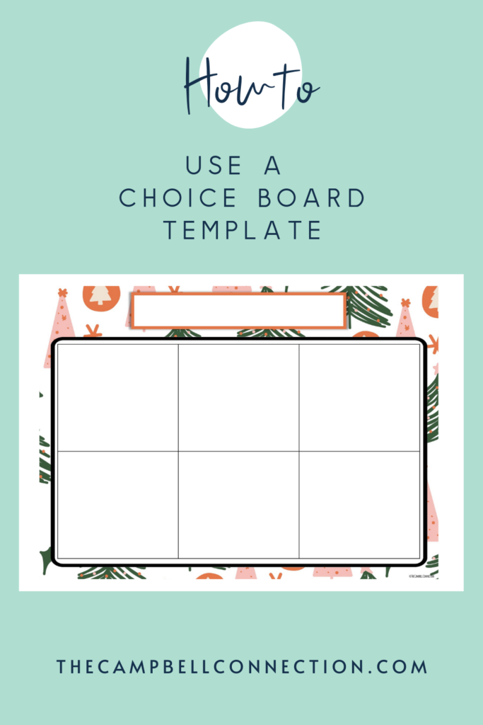 choice-board-template-google-slides