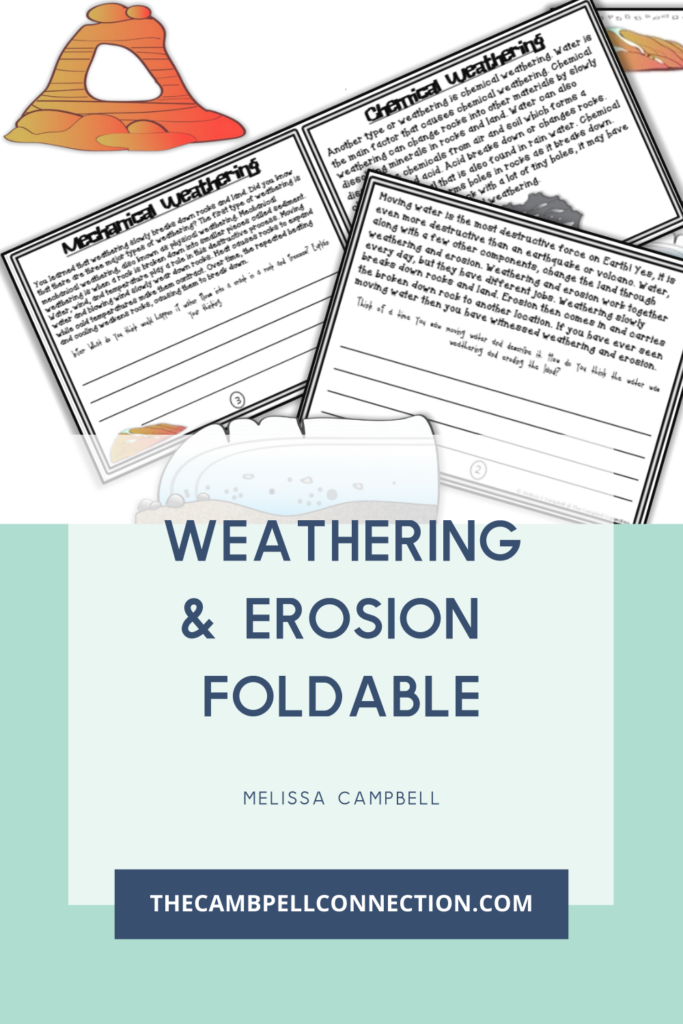 what-is-weathering-and-erosion-foldable-worksheet