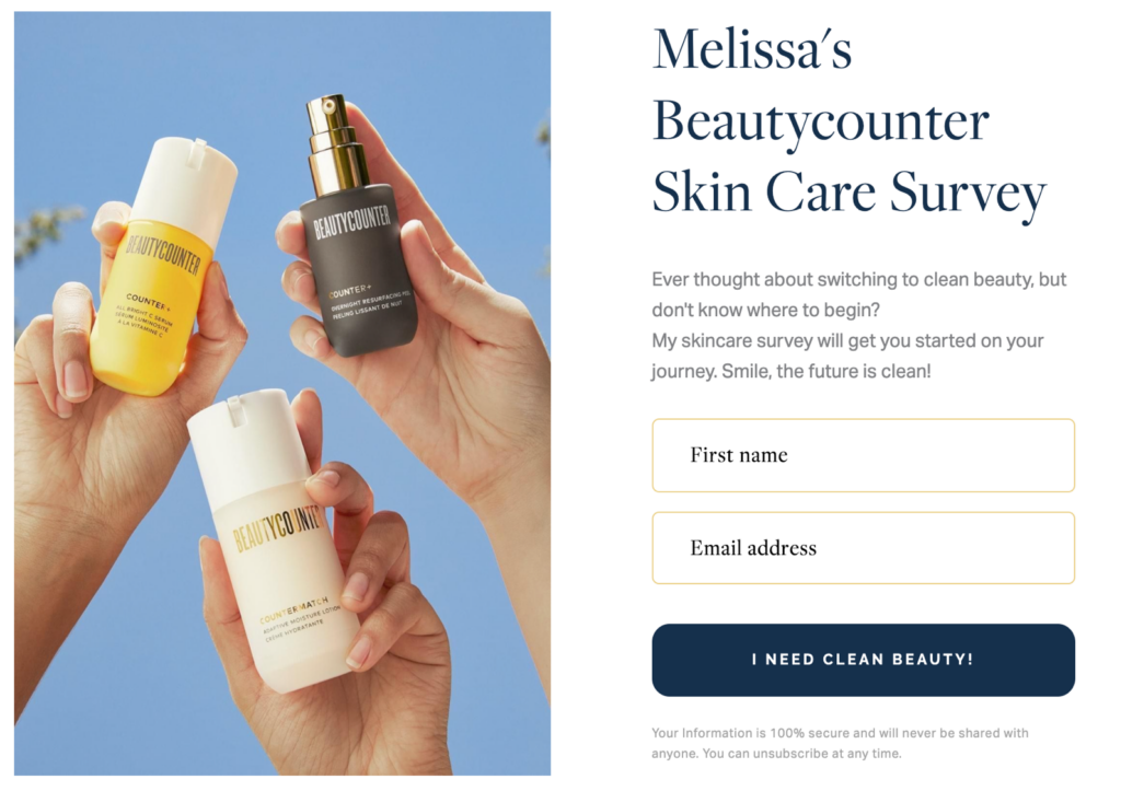 beautycounter-skin-care-survey